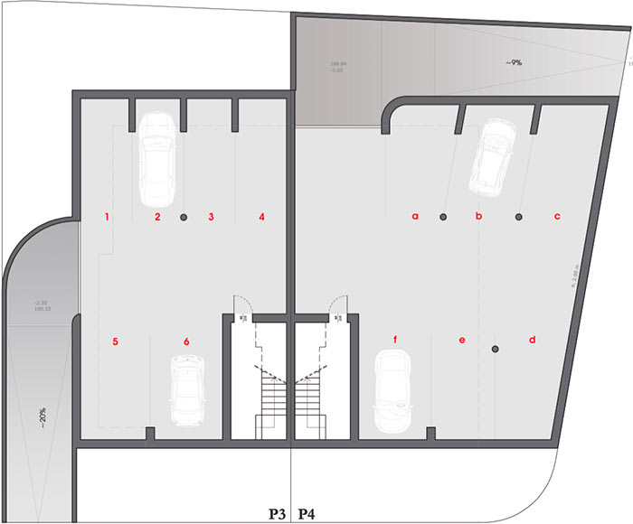 Amadeo II underground floor plan
