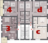 Project Amadeo II first floor plan