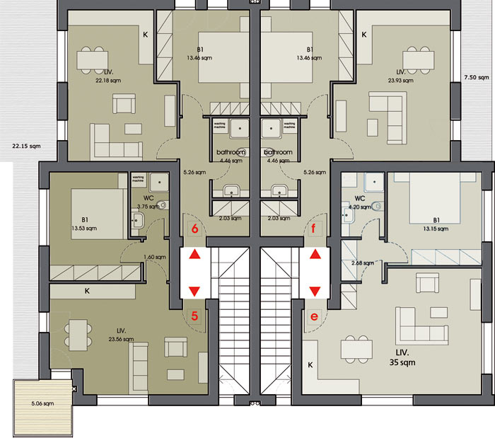 Amadeo II second floor plan