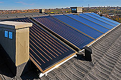 Rehau Solect thermal solar panels