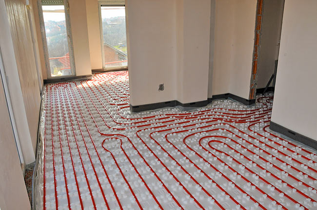 Beodom low temperature central floor heating system from for Floor heating system