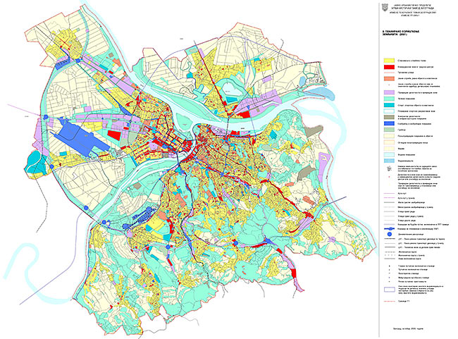 Master Plan of Belgrade to 2021