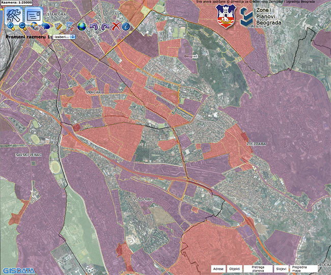 beoland mapa beograda Beodom | Essential online tools to explore Belgrade's detailed  beoland mapa beograda