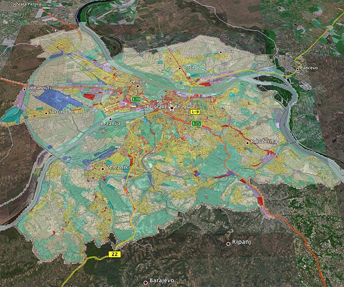 Beodom Generalni Plan Beograda Do 2021 Kakvog Do Sada Niste Videli