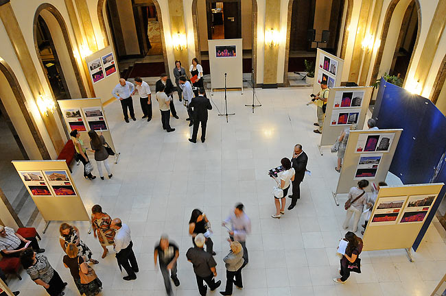 The exhibition Seeing Energy in the Assembly of the City of Belgrade
