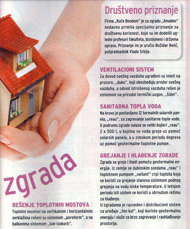 "Blic Žena: ""Building that saves energy"" 02"