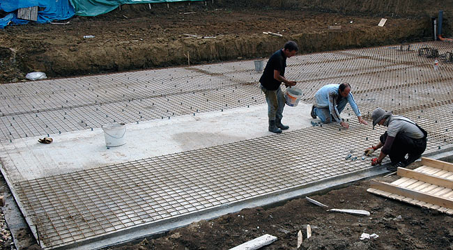 Amadeo right base slab, 1st layer - 02