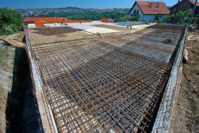 Sec Rcc Slab Wall : Beodom making of amadeo second ground floor armed