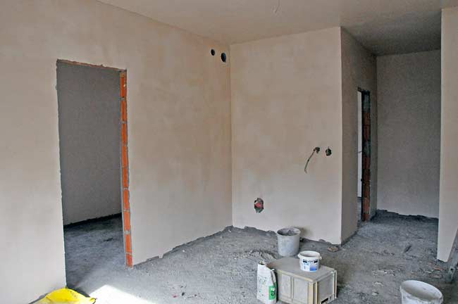 Plaster Once Finished With How To Smooth Plaster Walls.