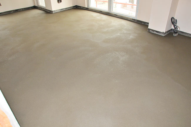 finished screed - 1