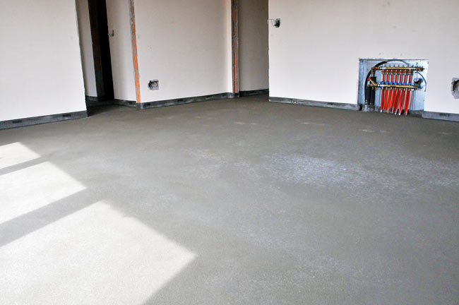 finished screed - 3