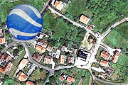 Amadeo visible on Google Earth through Panoramio