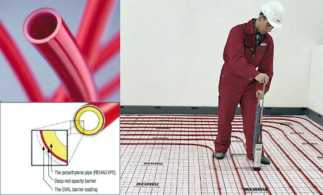 Rehau Underfloor heating